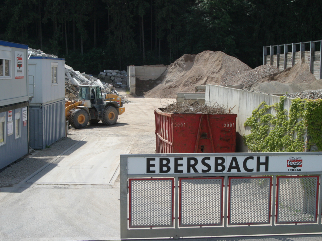 Recyclingpark in Ebersbach